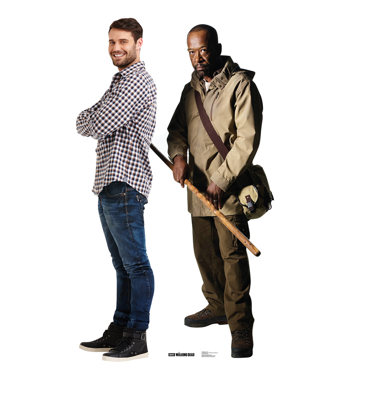 Life-size Morgan Jones (The Walking Dead) Cardboard Standup | Cardboard Cutout