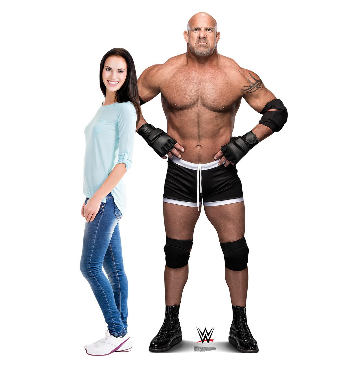 Life-size Goldberg - WWE Cardboard Standup | Cardboard Cutout