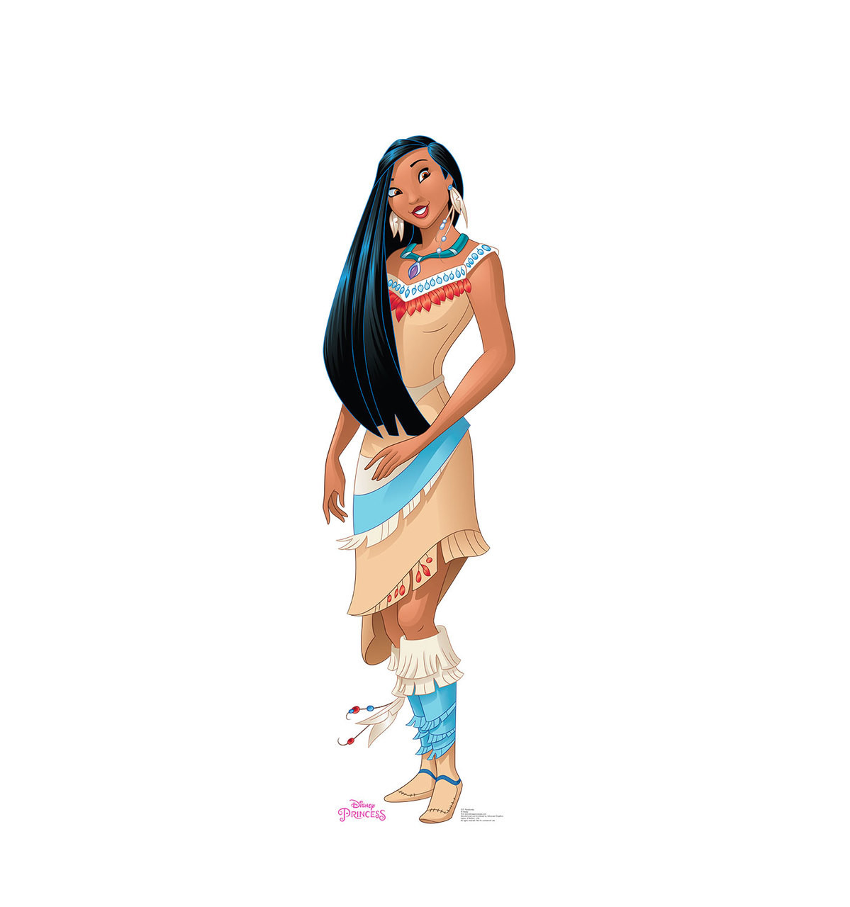Life-size Pocahontas - Friendship Adventures Cardboard Standup | Cardboard Cutout