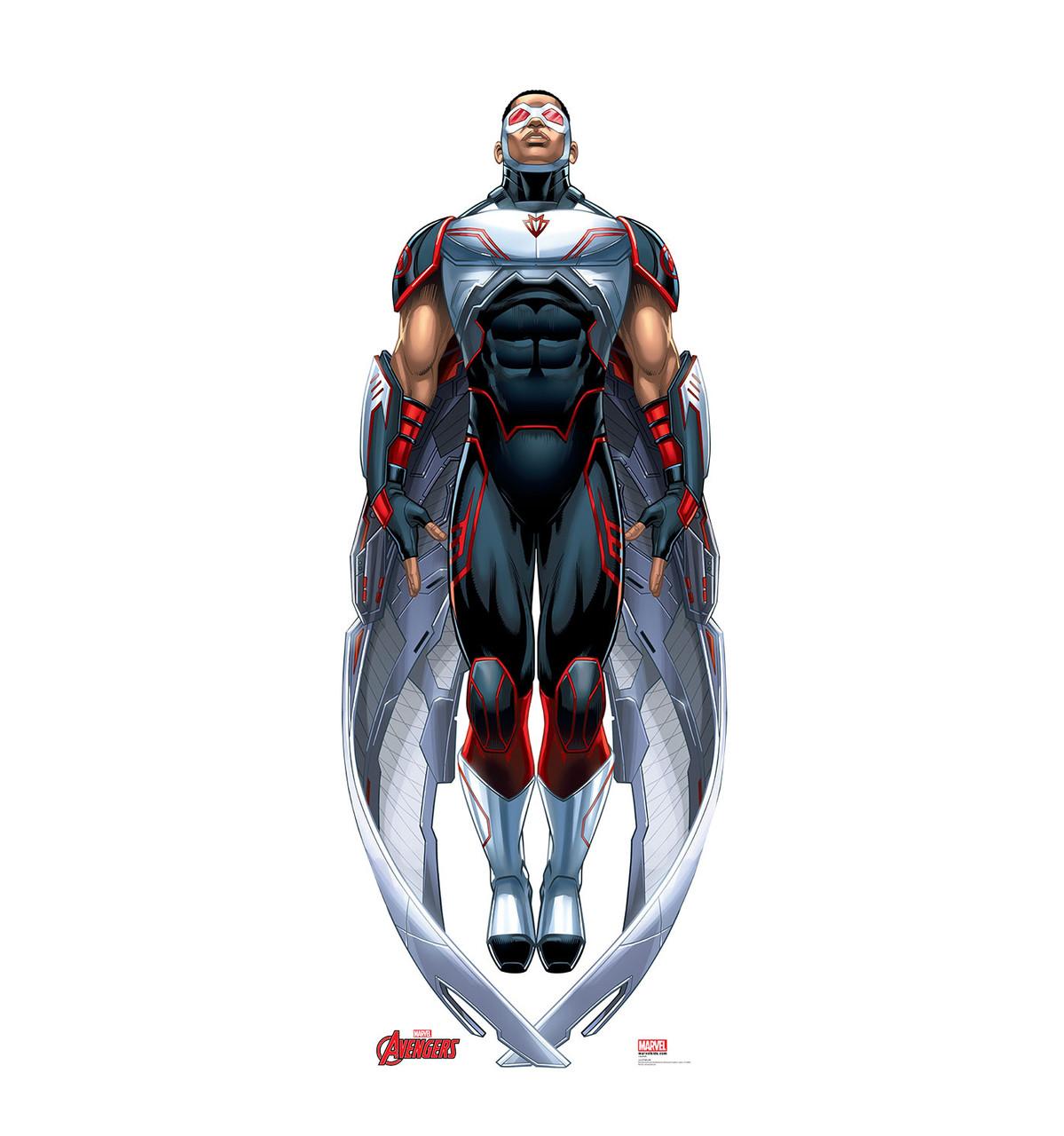 Life-size Falcon (Avengers) Cardboard Standup | Cardboard Cutout