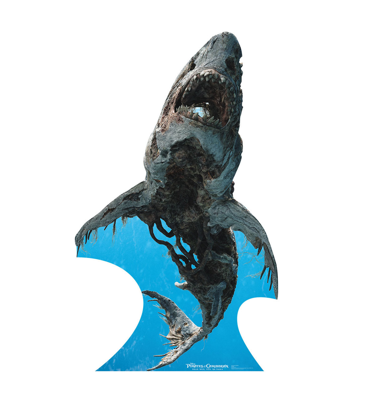 Ghost Shark - POTC 5  - Cardboard Cutout