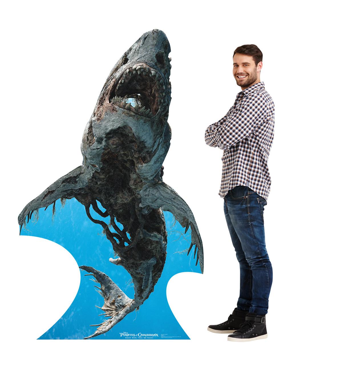 Life-size Ghost Shark (POTC 5) Cardboard Standup | Cardboard Cutout 2