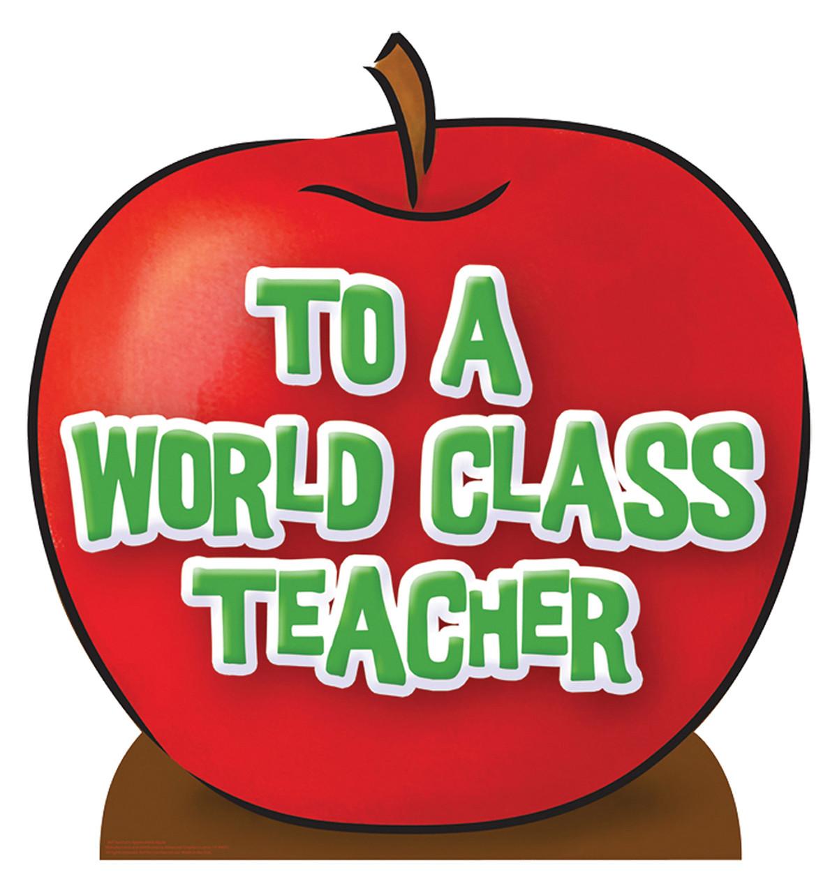 Teacher's Appreciation Apple