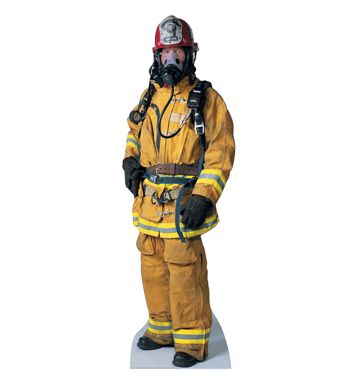 Life-size Firefighter Cardboard Standup | Cardboard Cutout