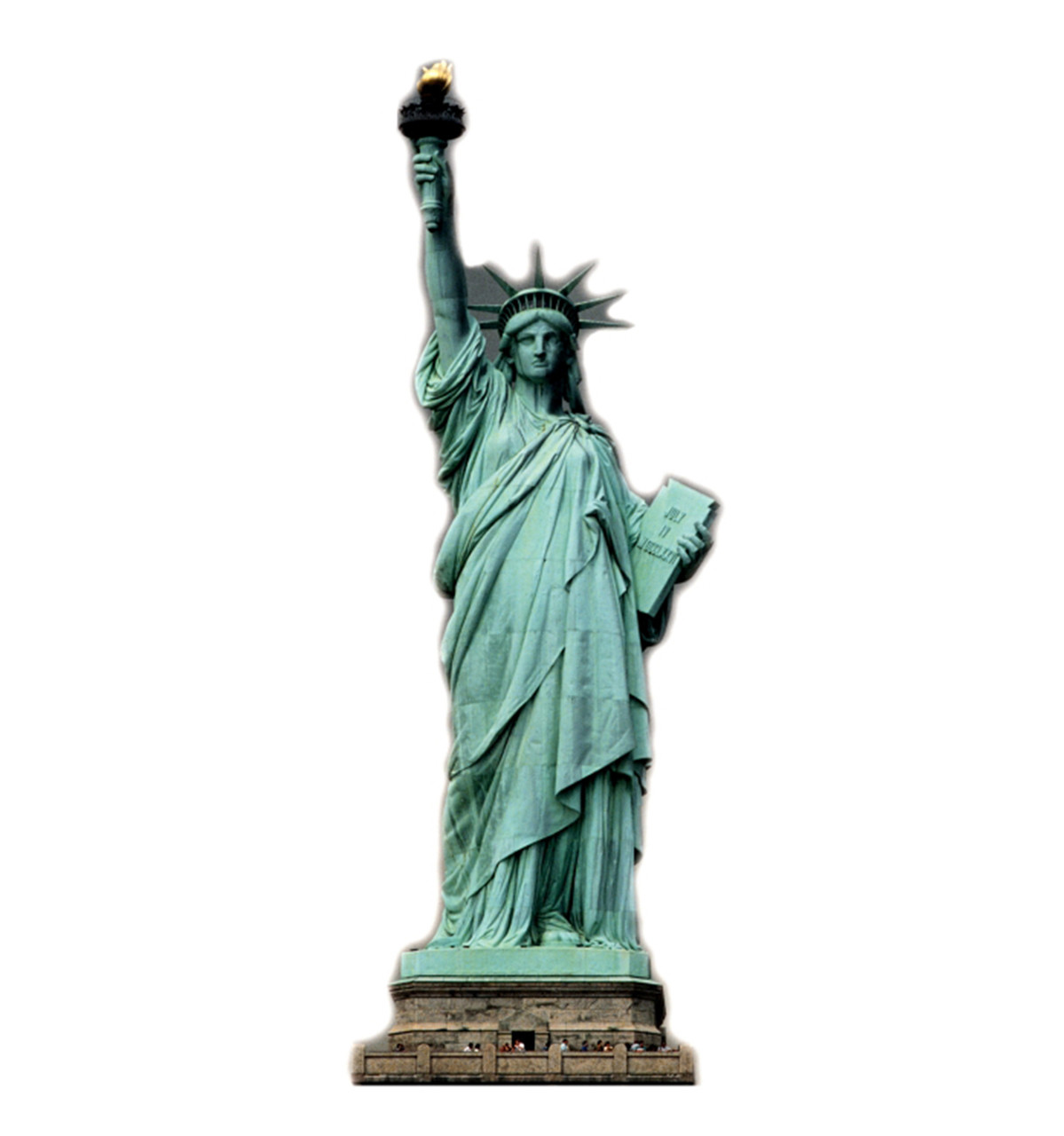 Life-size Statue of Liberty Cardboard Standup | Cardboard Cutout