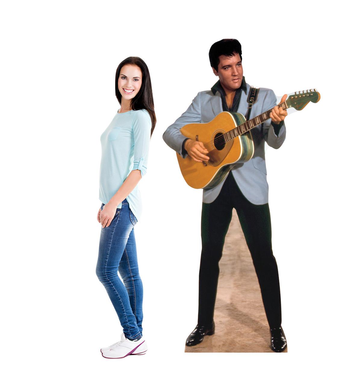 Elvis Light Blue Jacket - Cardboard Cutout 1352