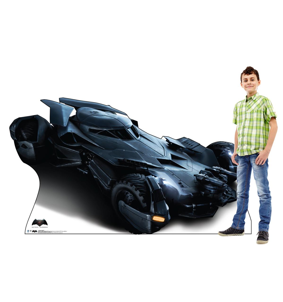Life-size Batmobile - Batman V. Superman Cardboard Standup   Cardboard Cutout