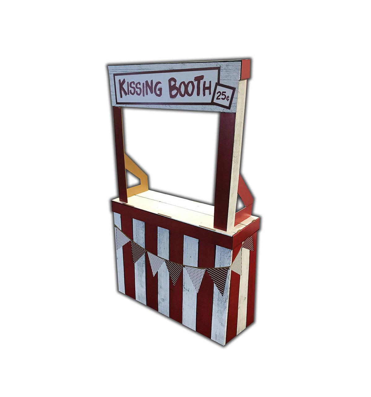 Life-size Kissing Booth Cardboard Standup | Cardboard Cutout 4