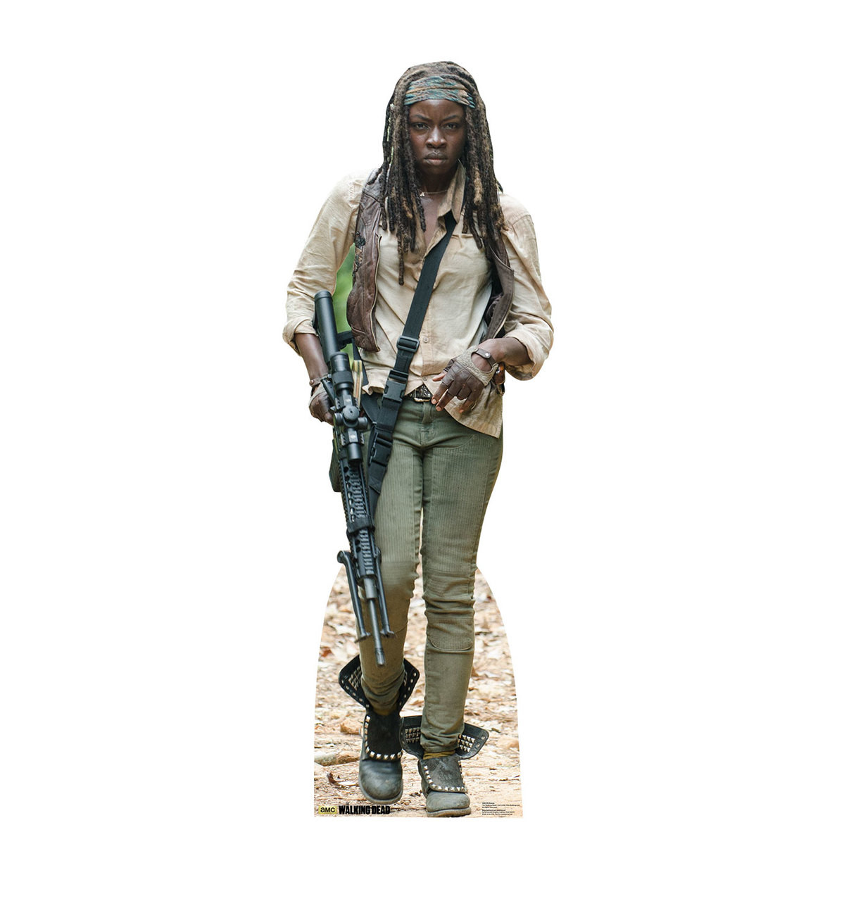 Life-size Michonne (The Walking Dead) Cardboard Standup | Cardboard Cutout