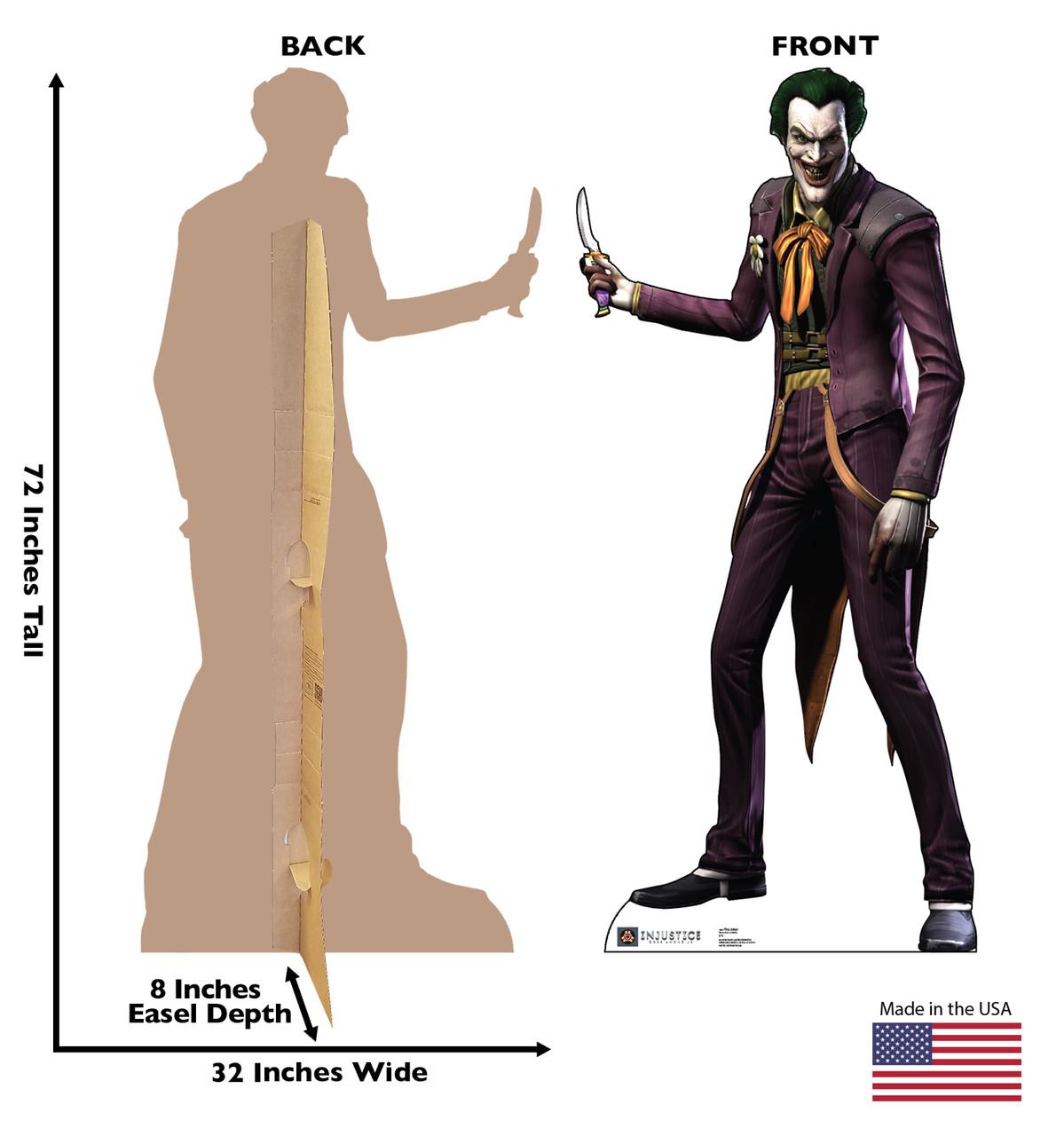 The Joker - Injustice Gods Among Us - Cardboard Cutout