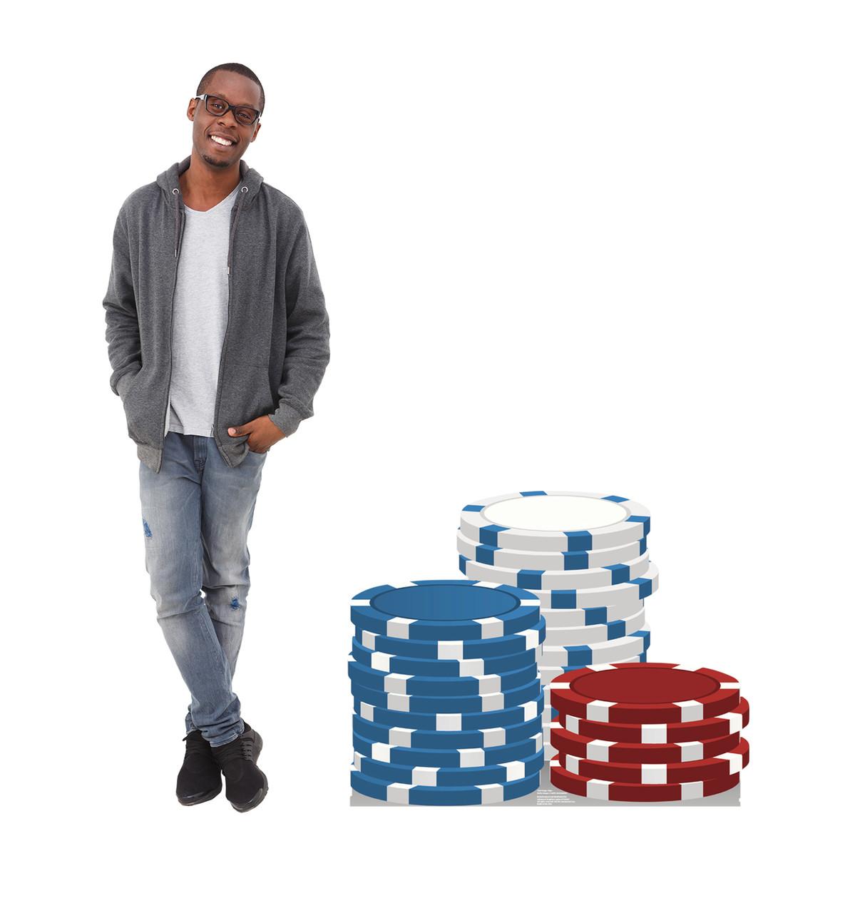 Vegas Chips - Cardboard Cutout 1844