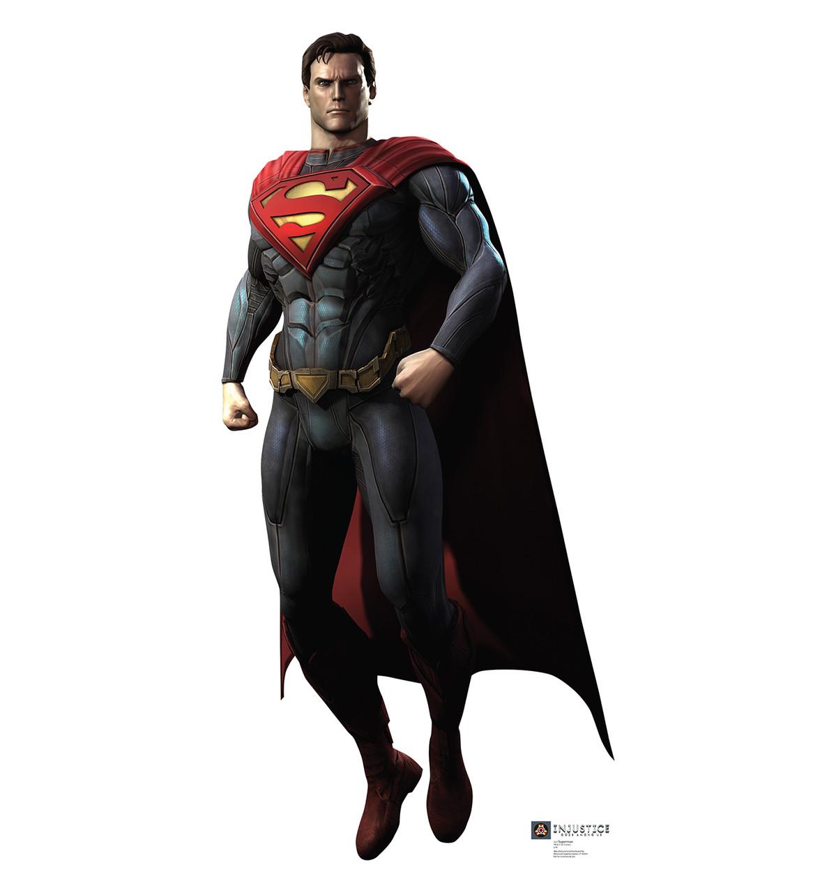 Life-size Superman - Injustice Gods Among Us Cardboard Standup | Cardboard Cutout