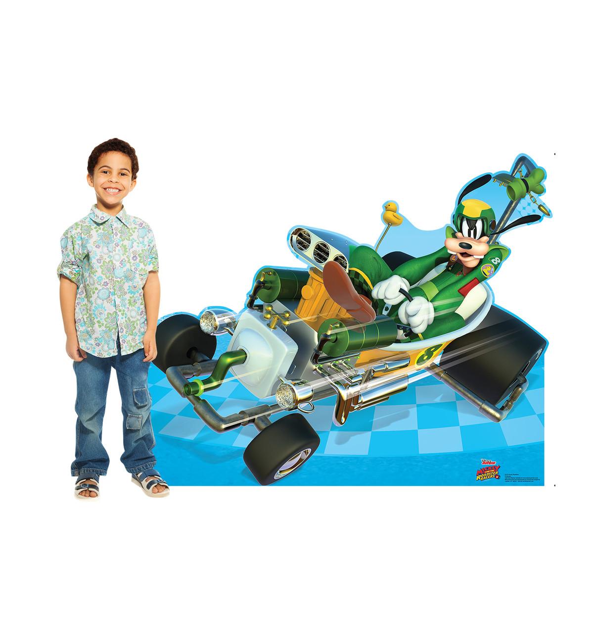 Life-size Goofy Roadster (Disney's Roadster Racers) Cardboard Standup | Cardboard Cutout