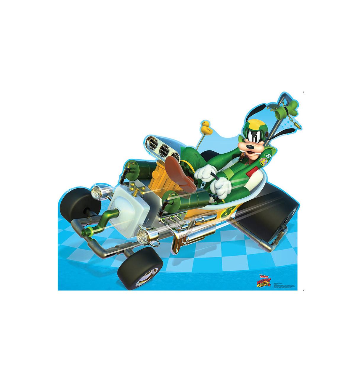 Goofy Roadster - Disney's Roadster Racers - Cardboard Cutout