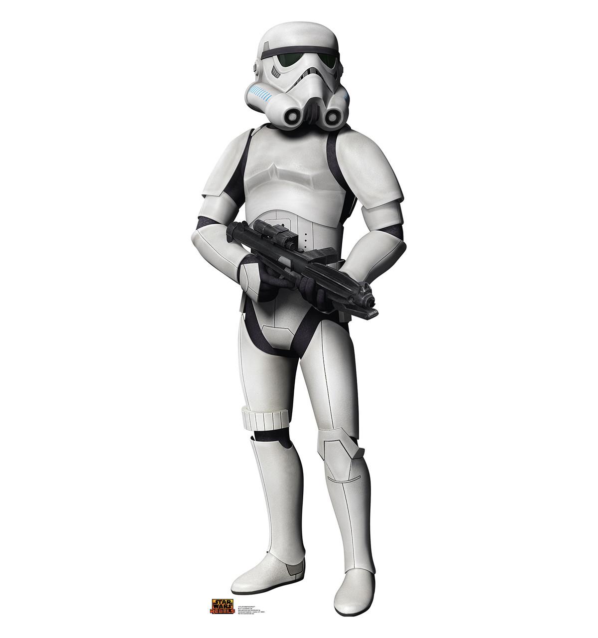 Life-size Stormtrooper - Star Wars Rebels Cardboard Standup | Cardboard Cutout