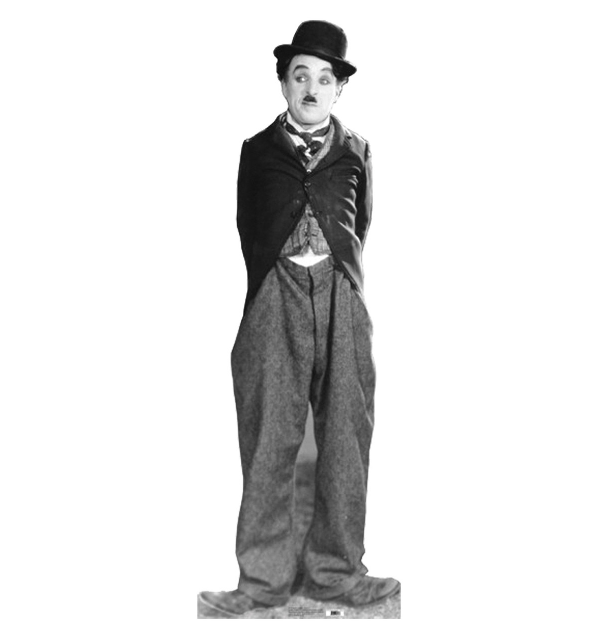Life-size Charlie Chaplin - Tramp 3 Cardboard Standup | Cardboard Cutout