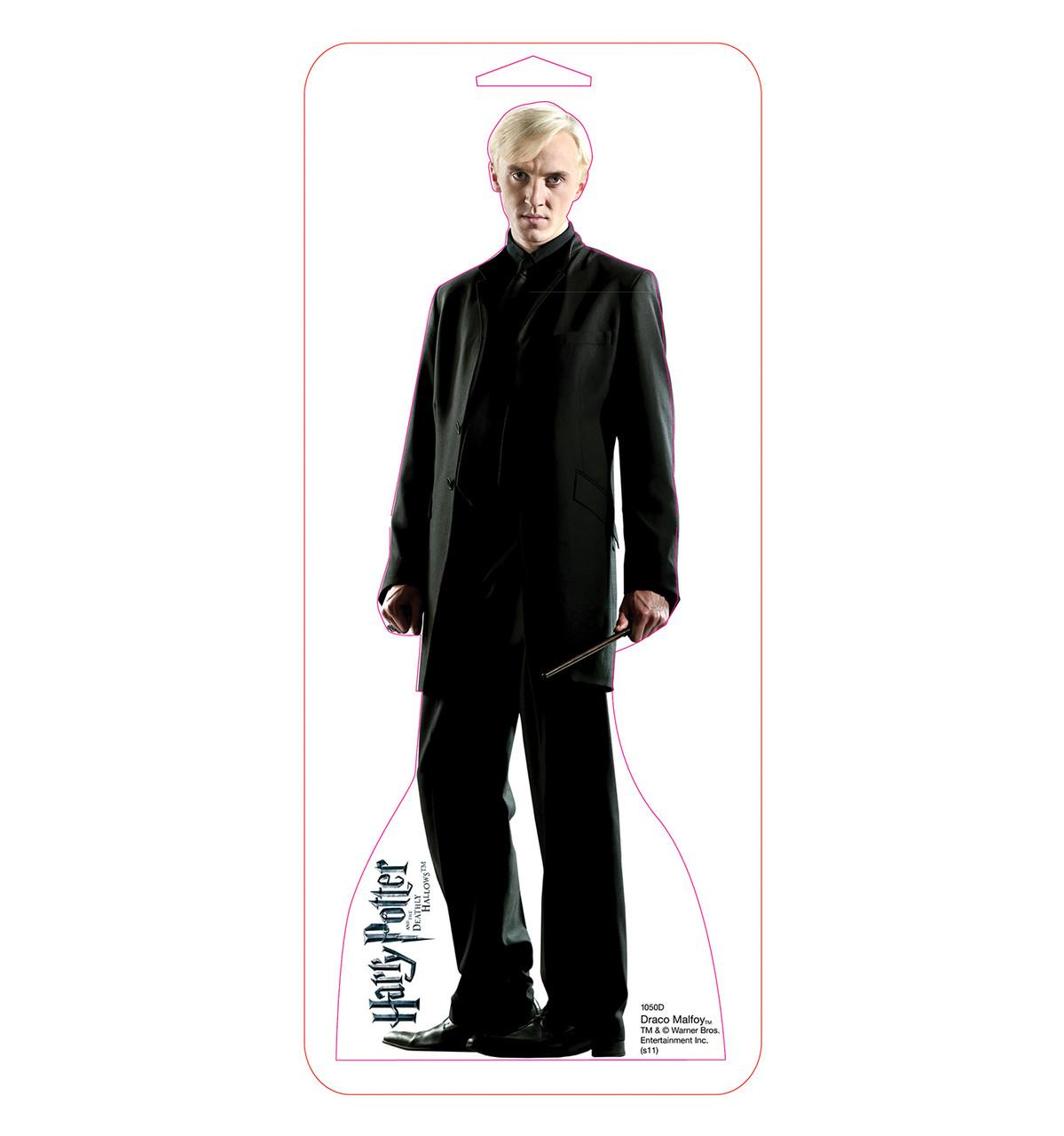 Tabletop Draco Malfoy Mini Cardboard Standup | Cardboard Cutout