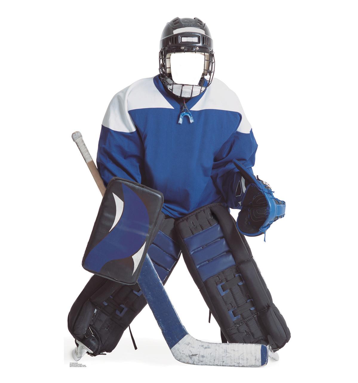 Life-size Hockey Player Stand-in Cardboard Standup | Cardboard Cutout