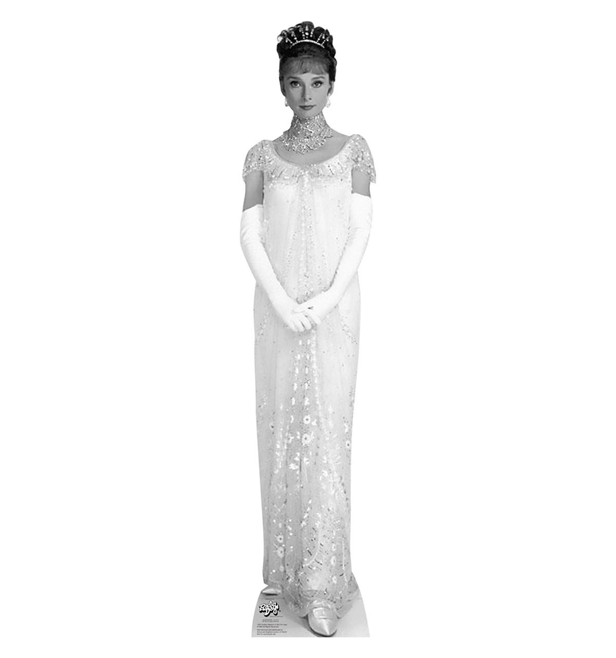 Life-size Audrey Hepburn - My Fair Lady 2 Cardboard Standup   Cardboard Cutout