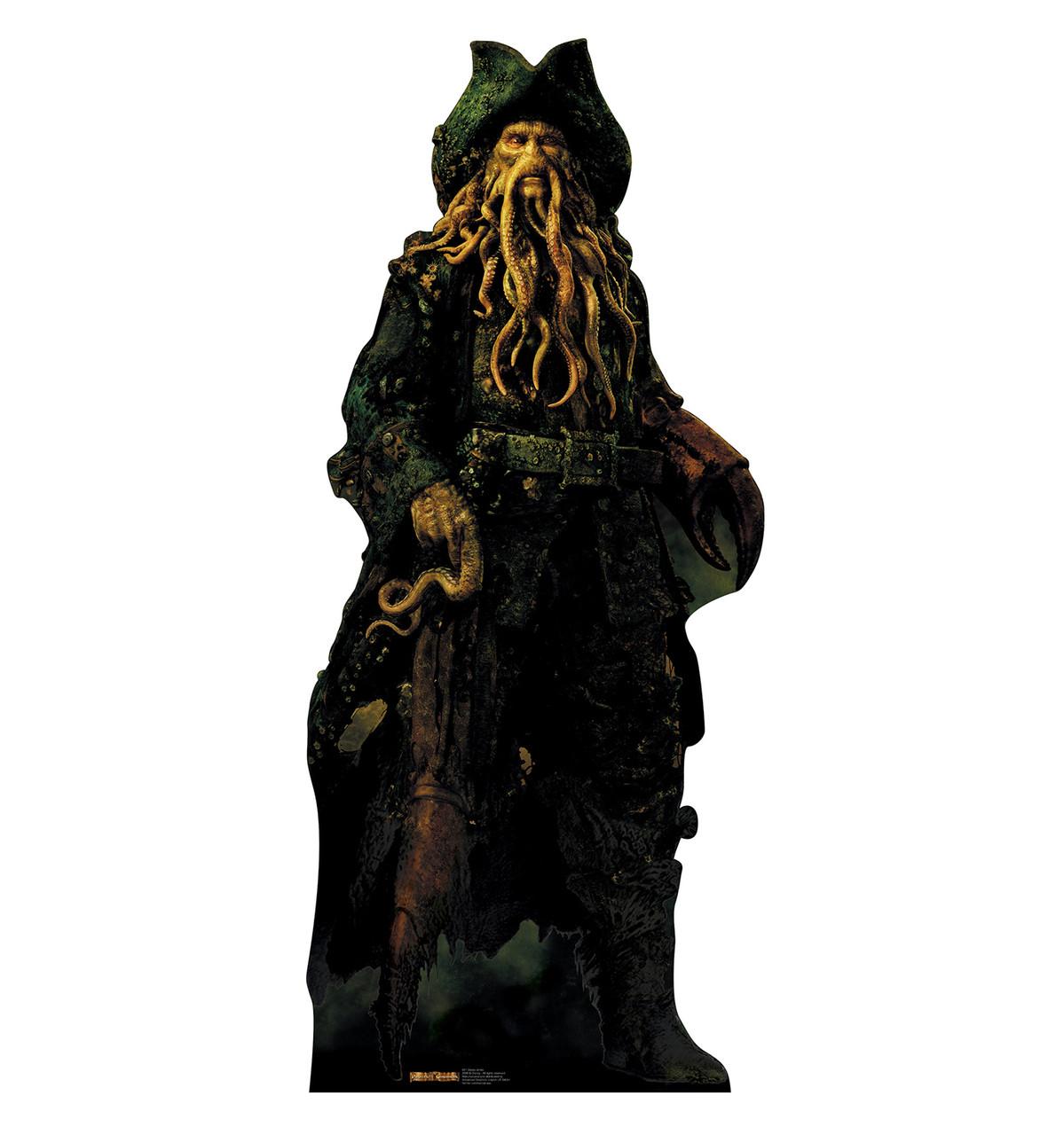 Life-size Davy Jones Cardboard Standup |Cardboard Cutout