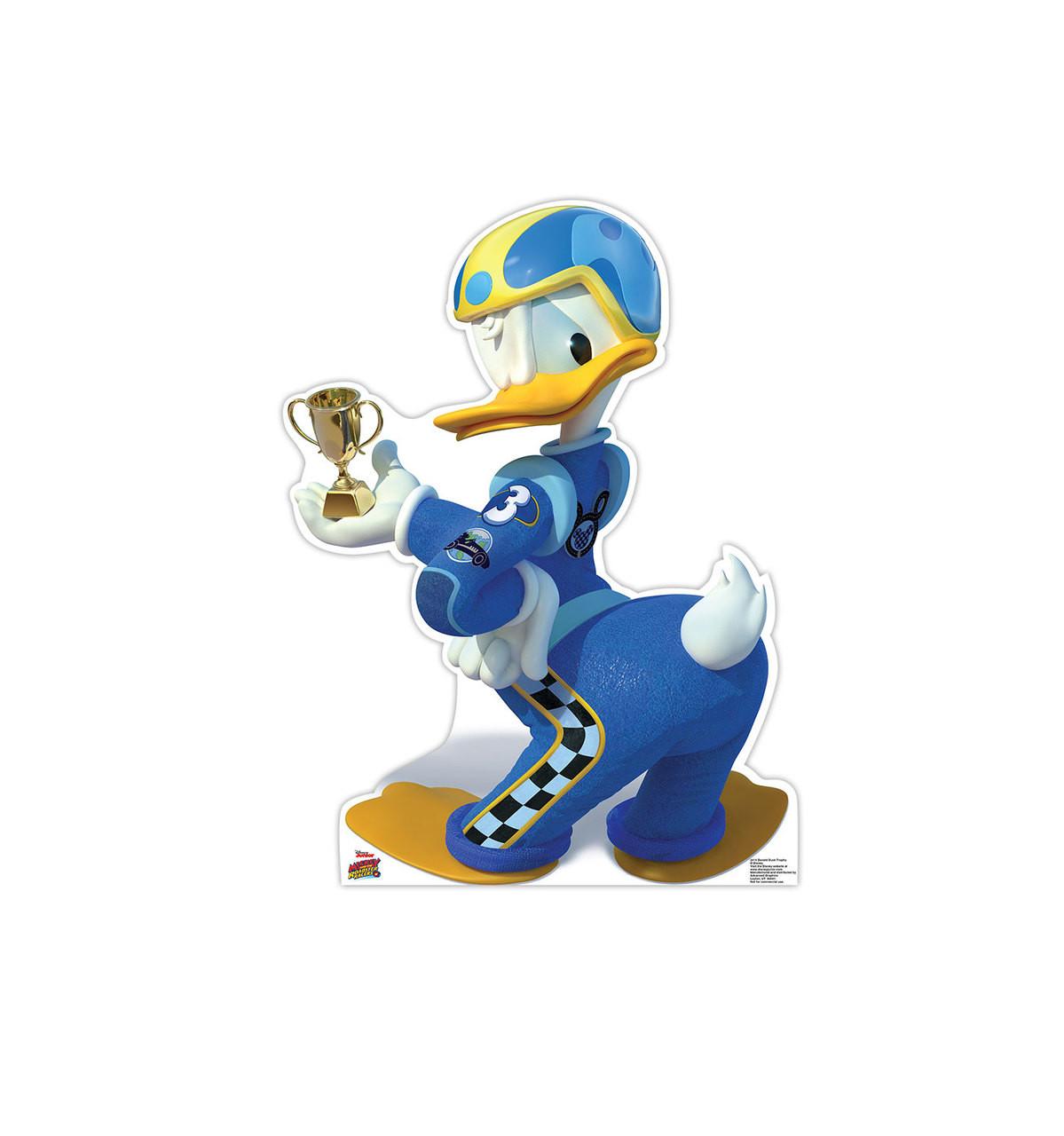 Donald Duck Trophy - Disney's Roadster Racers - Cardboard Cutout