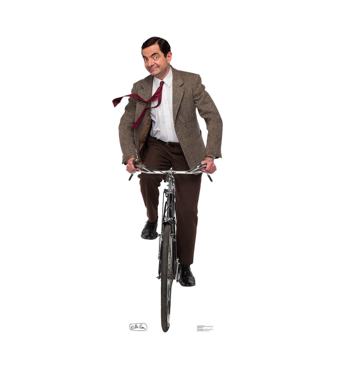 Mr. Bean Bike Ride - Cardboard Cutout