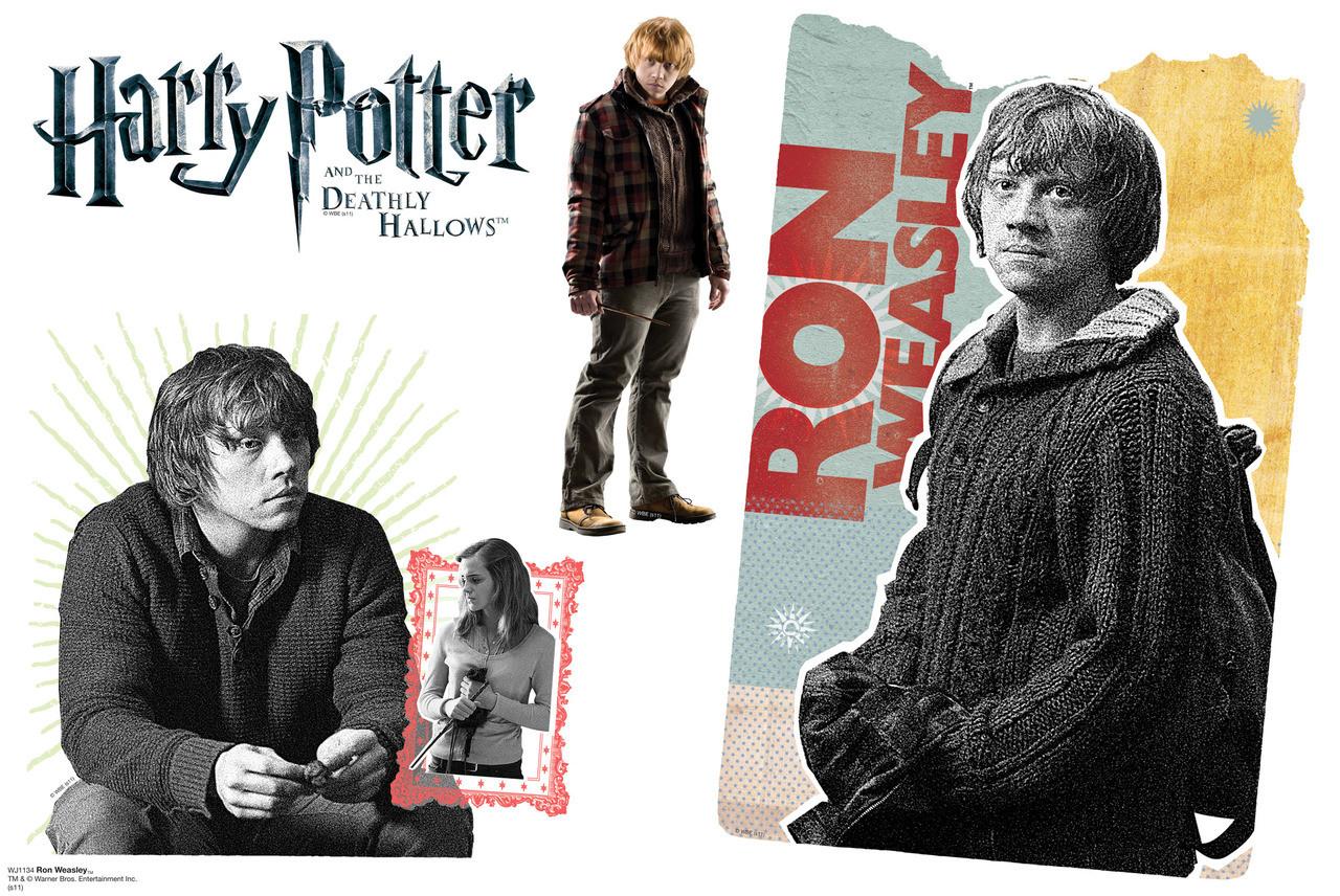Ron Weasley Walljammer Harry Potter 7