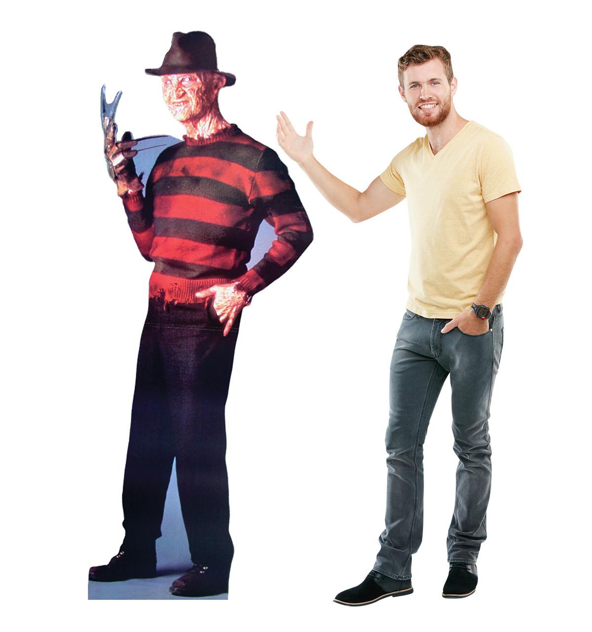 Life-size Freddy Krueger - Nightmare on Elm Street Cardboard Standup