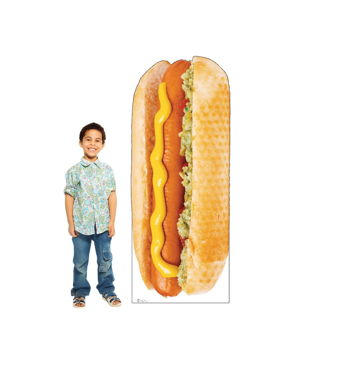 Hot Dog - Cardboard Cutout