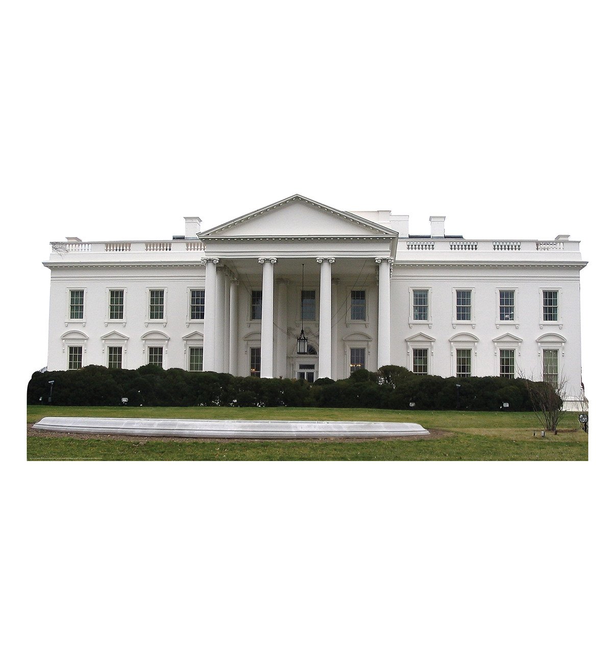 Life-size The White House Cardboard Standup