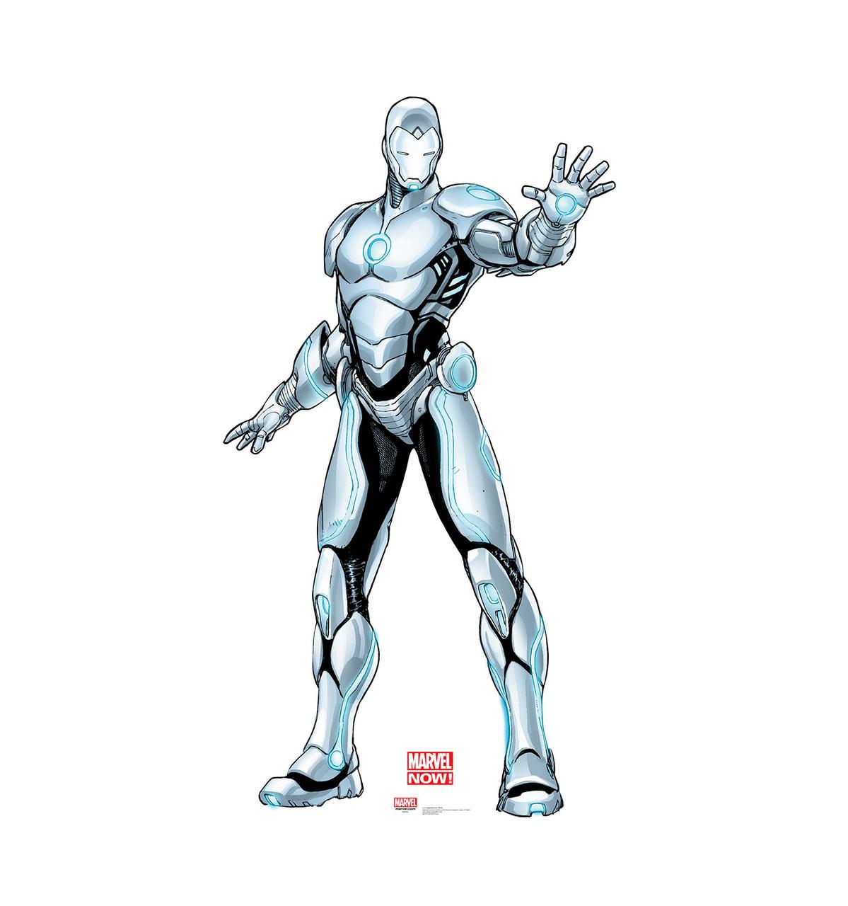 Life-size Superior Iron Man Cardboard Standup