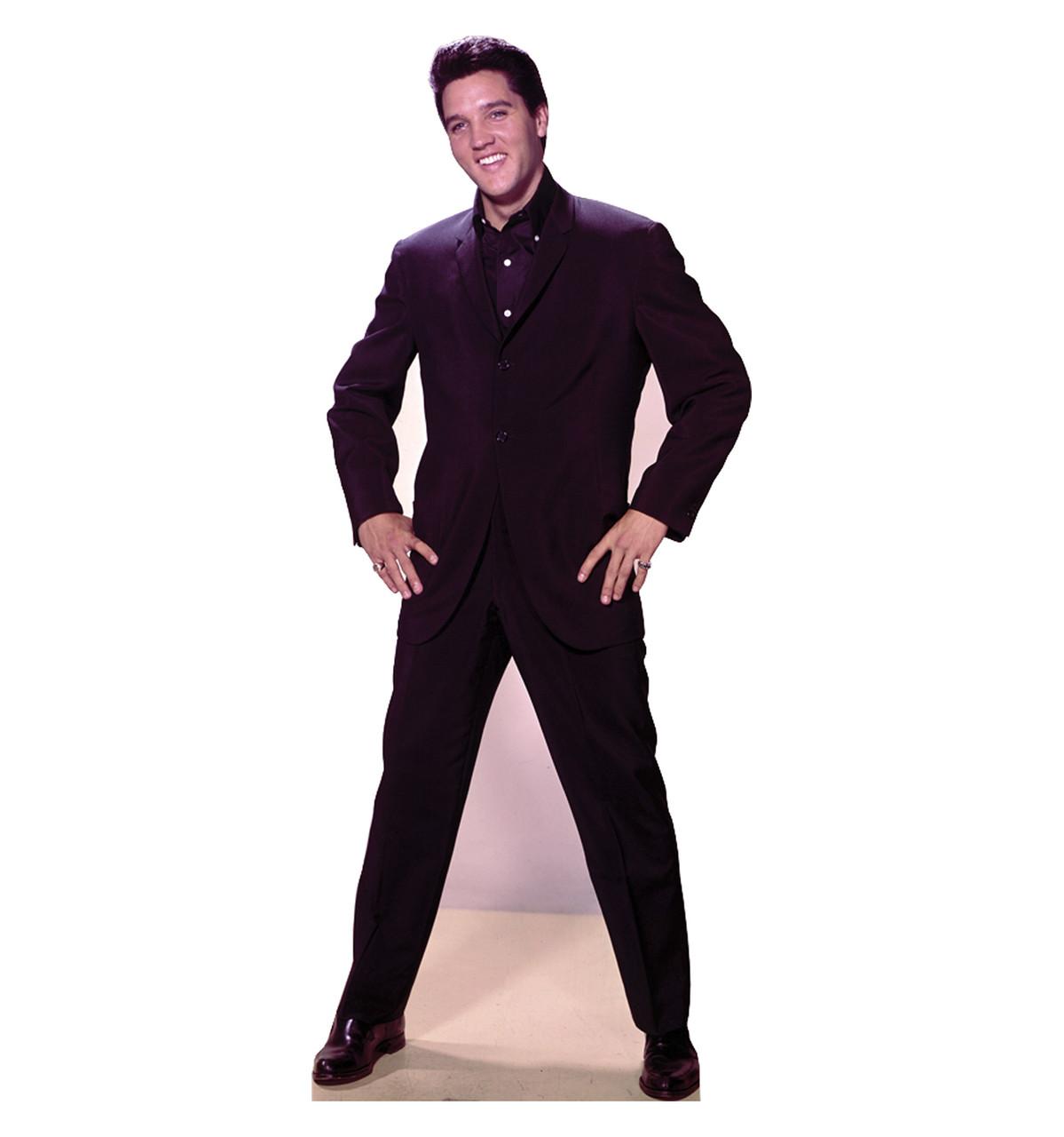 Life-size Elvis Hands on Hips Cardboard Standup