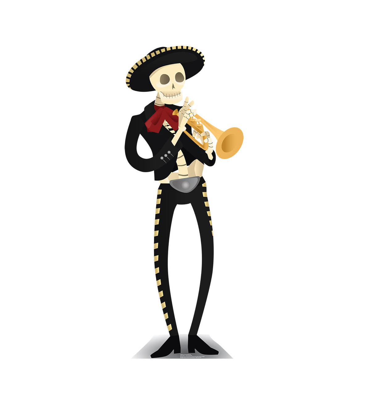 Day of the Dead Mariachi - Cardboard Cutout