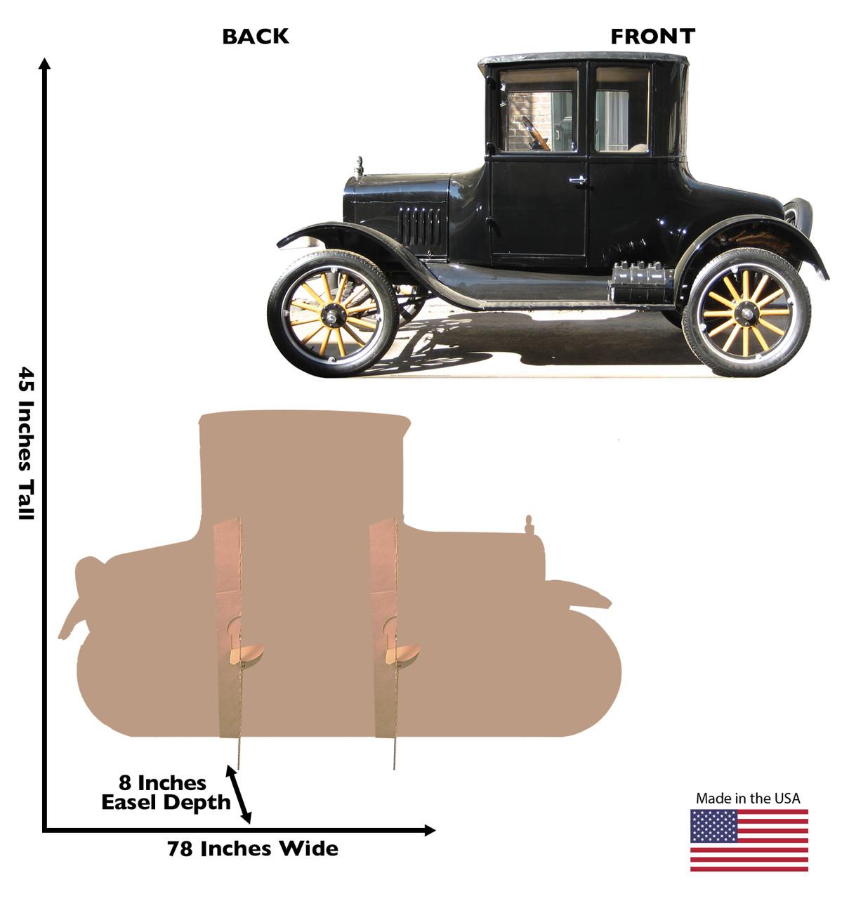 Classic Car - Cardboard Cutout