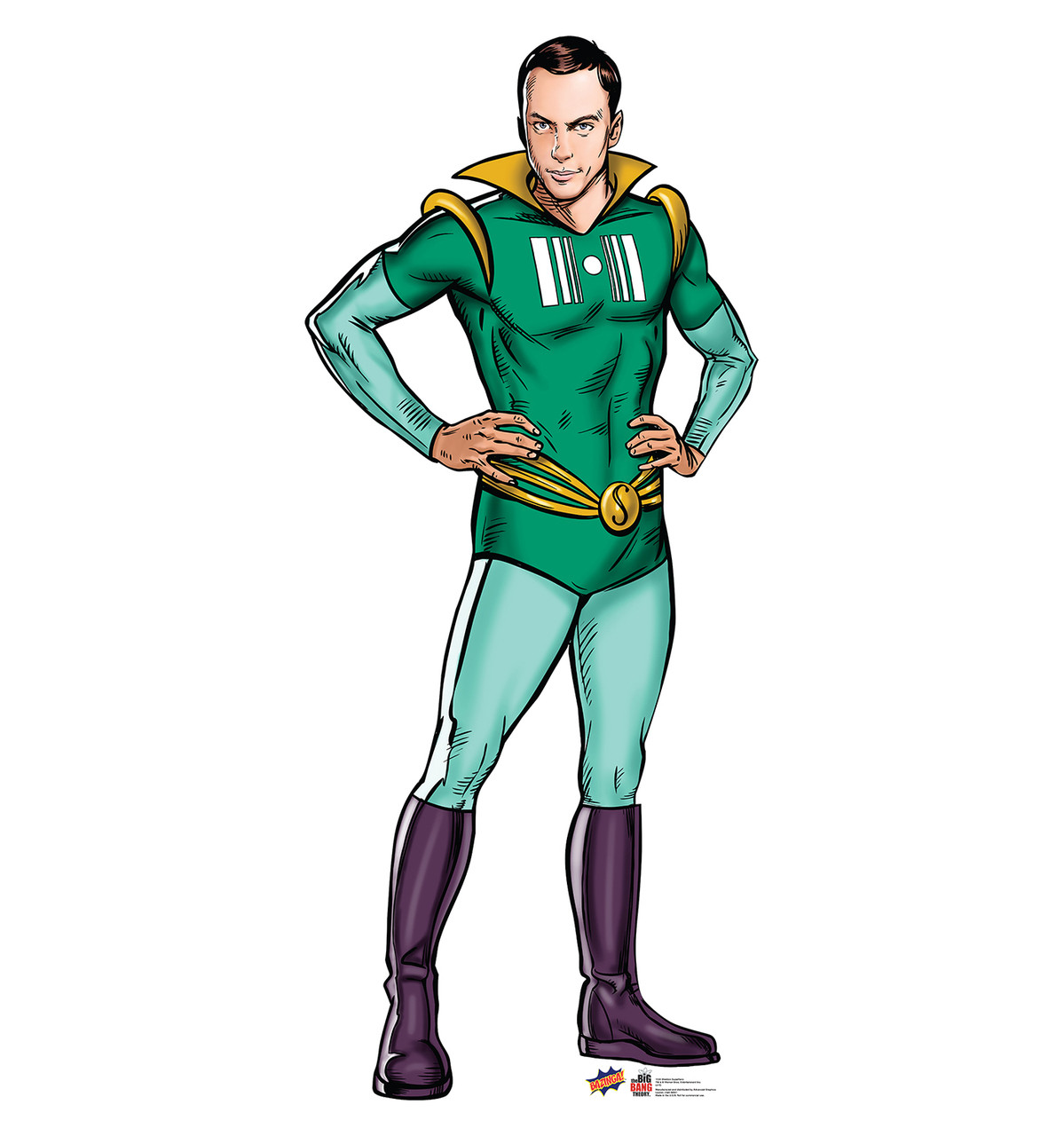 Sheldon Super Hero - Big Bang Theory - Cardboard Cutout