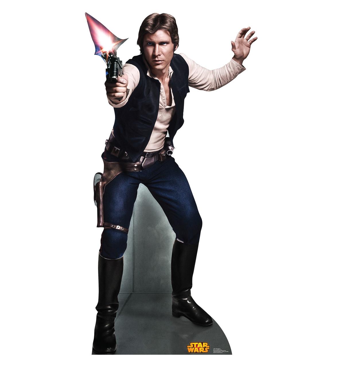 Han Solo (Retouched) - Cardboard Cutout