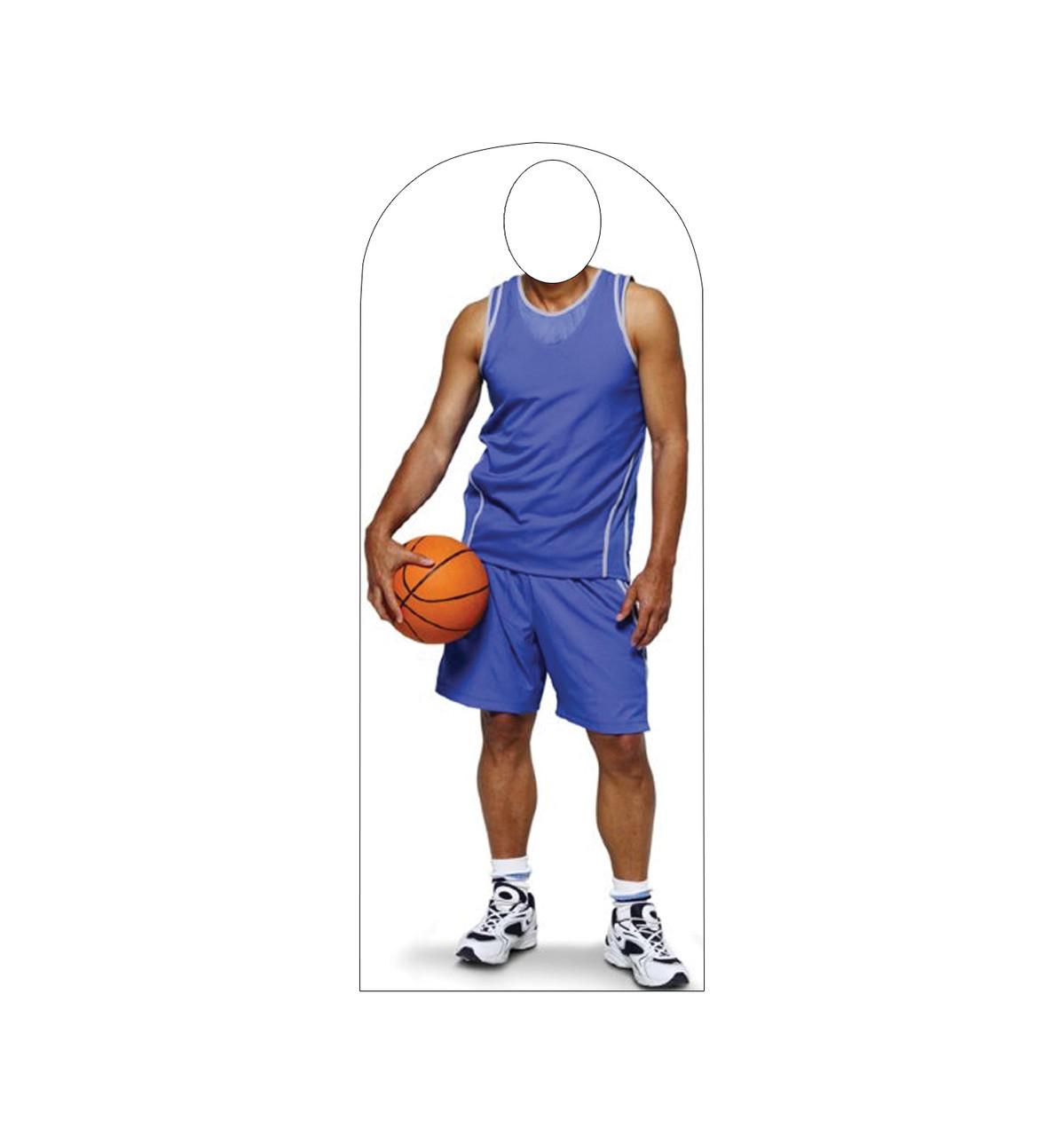 Life-size Basketball Standin Cardboard Standup