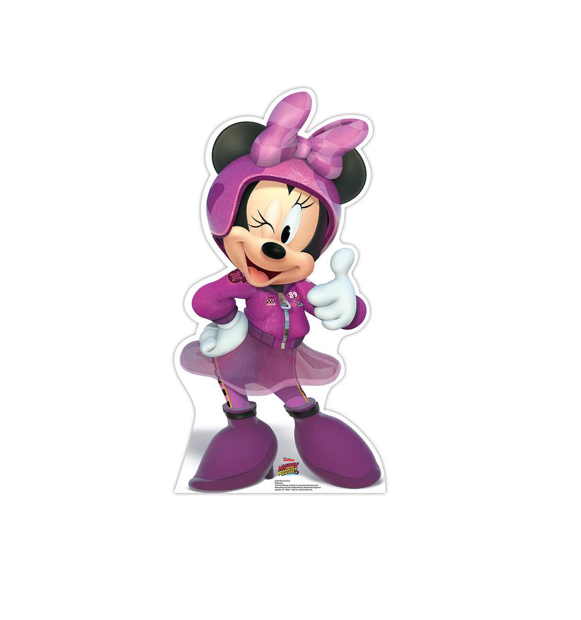 Life-size Minnie Wink (Disney's Roadster Racers) Cardboard Standup 3