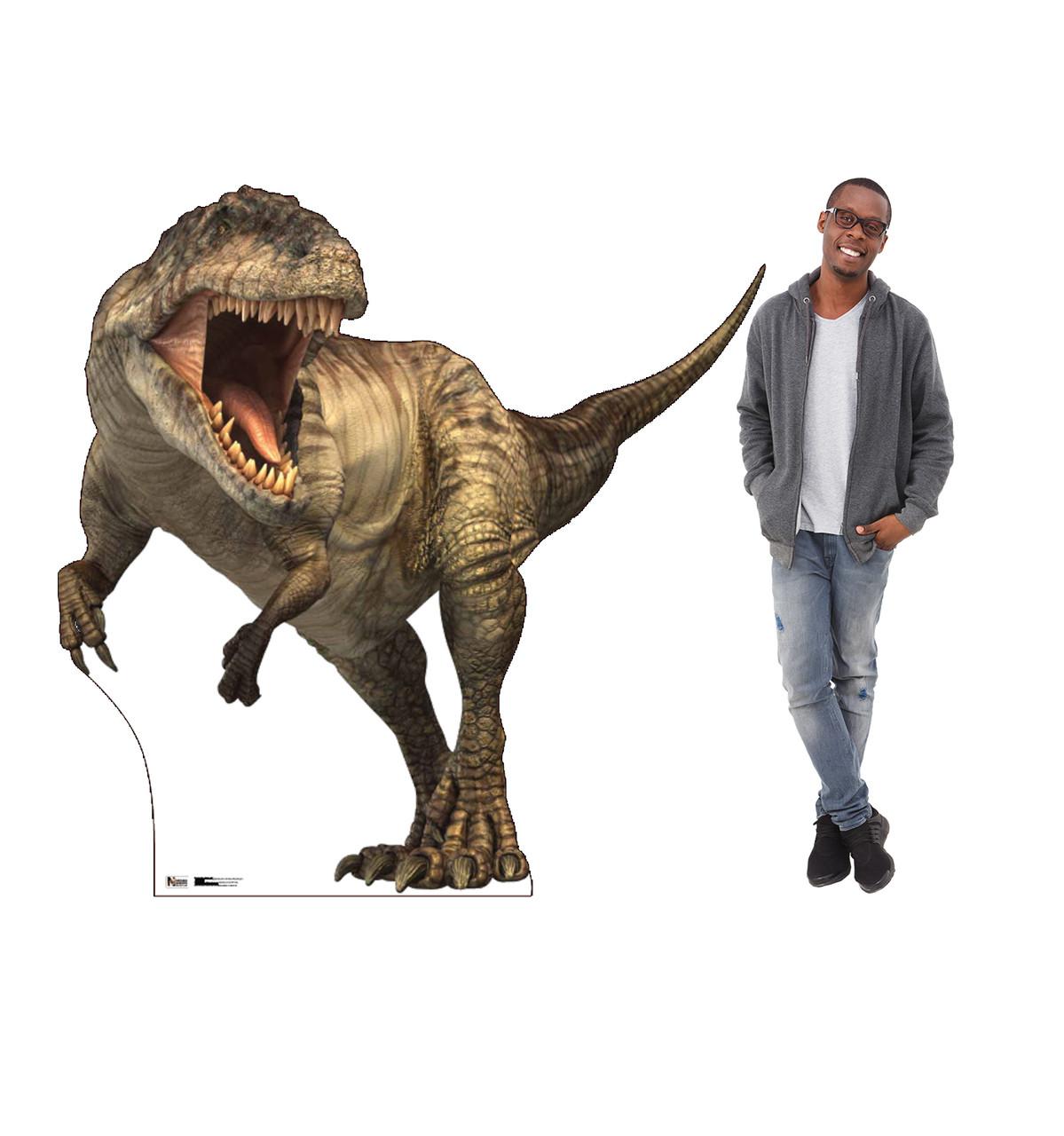 Life-size Giganotosaurus Cardboard Standup with Model