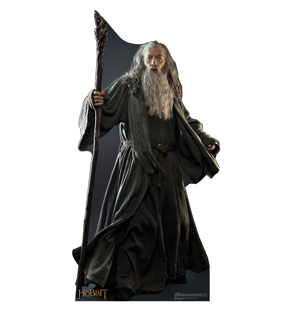 Life-size Gandalf - The Hobbit Cardboard Standup