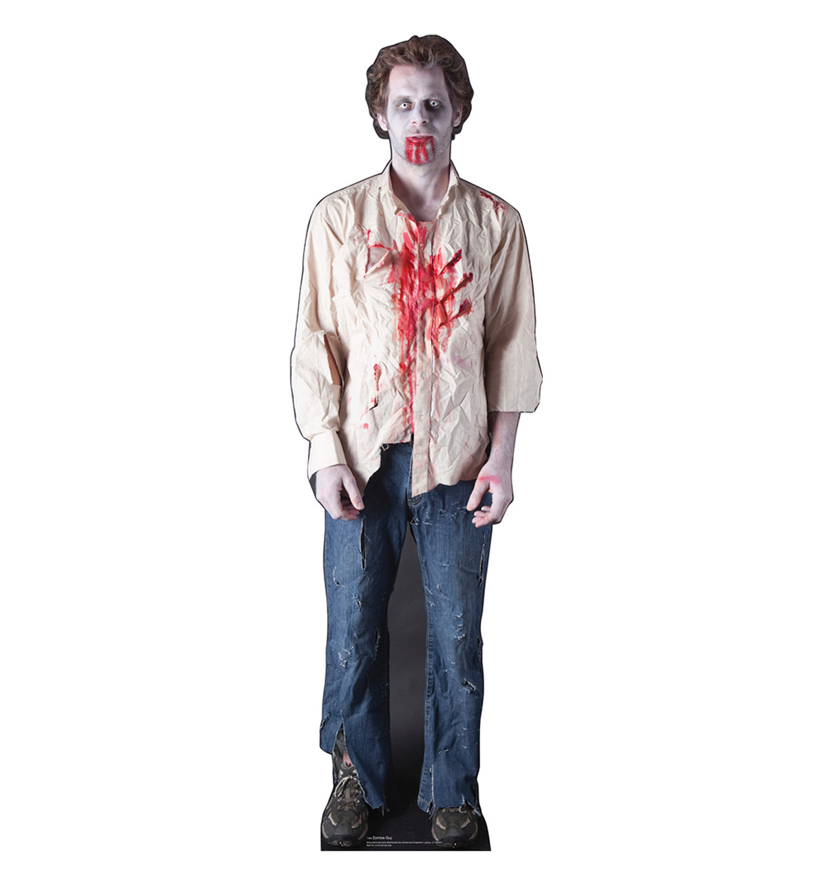 Zombie Guy - Cardboard Cutout