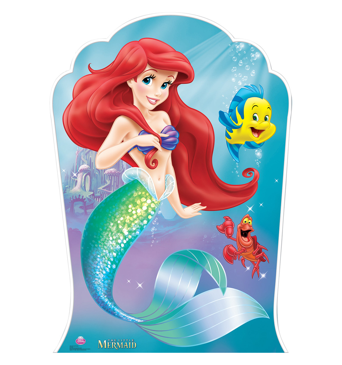 Ariel and Friends Front View