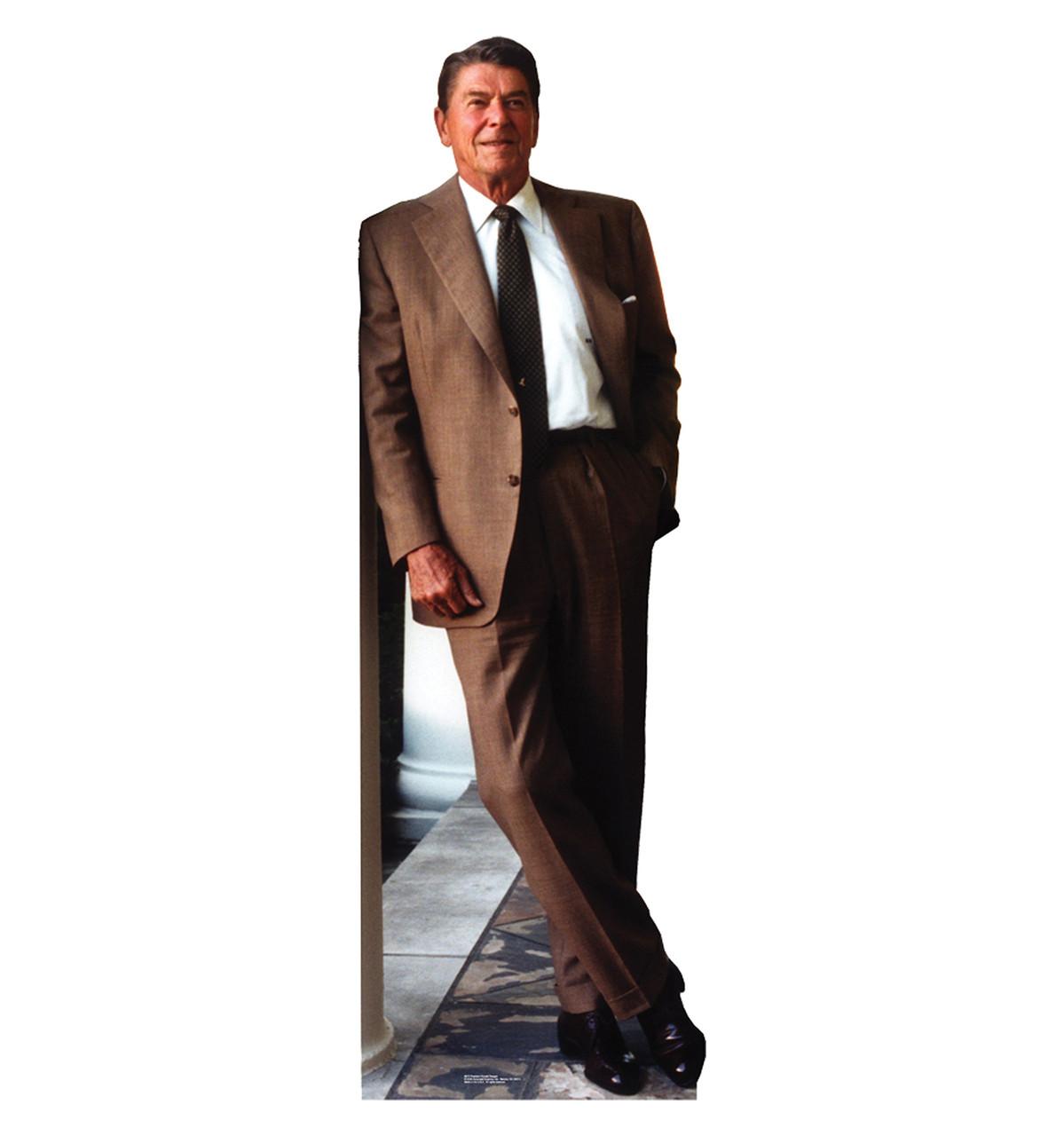 Pres. Ronald Reagan - Cardboard Cutout