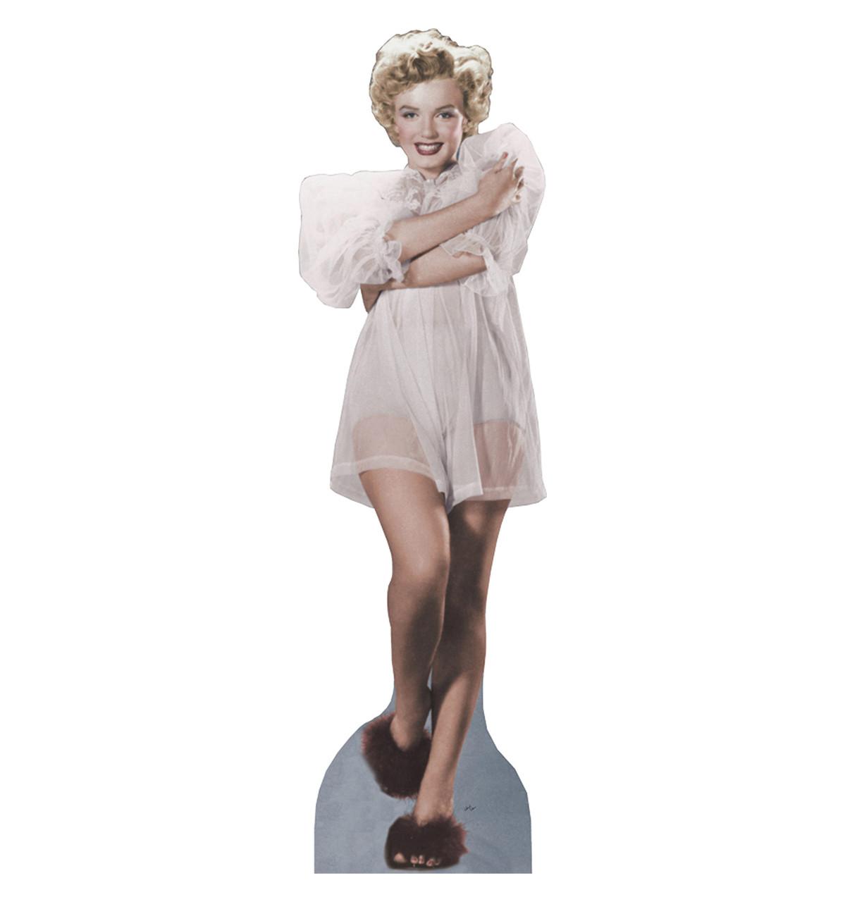Marilyn - Nightie - Cardboard Cutout 360