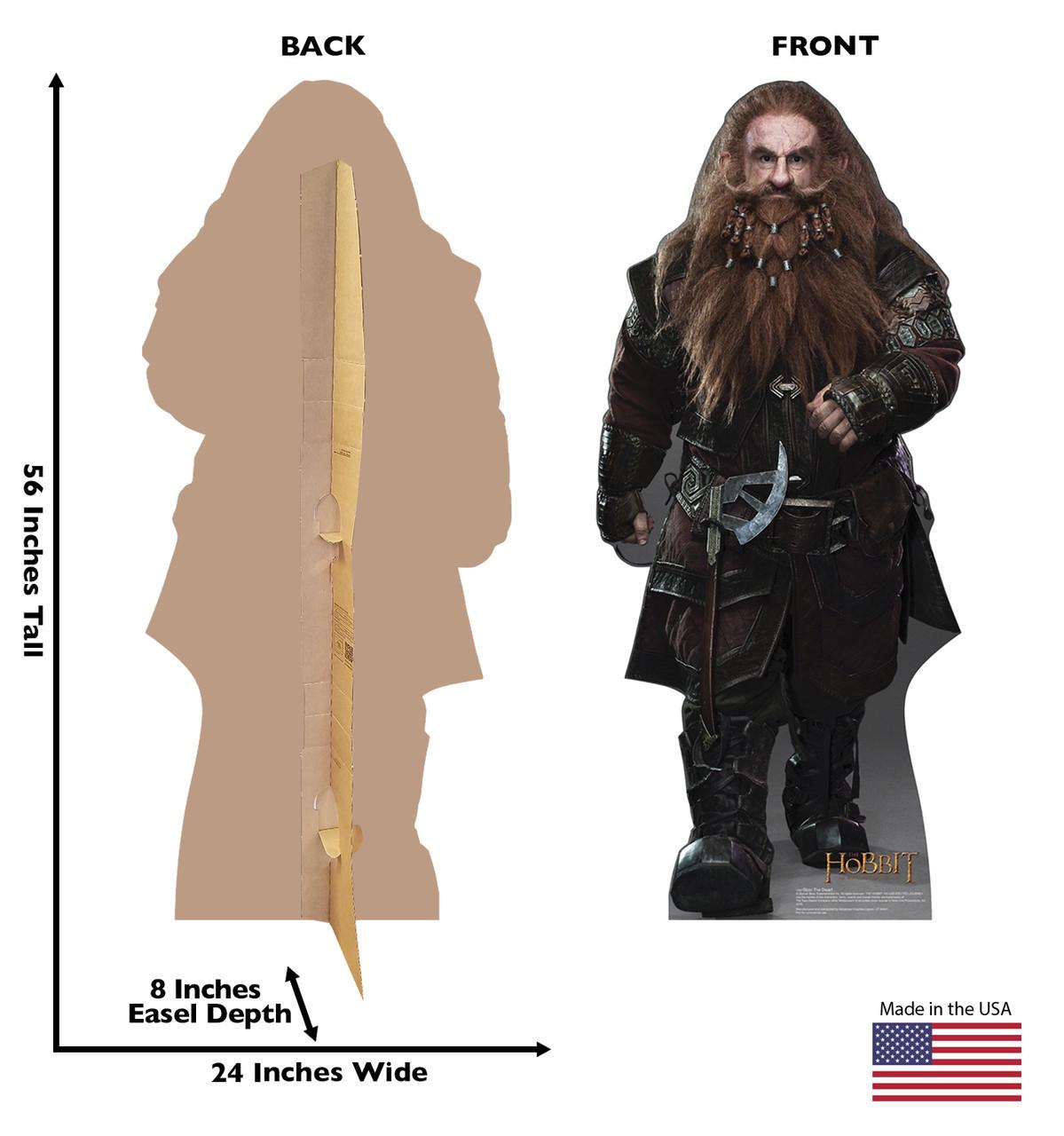 Gloin The Dwarf - The Hobbit - Cardboard Cutout