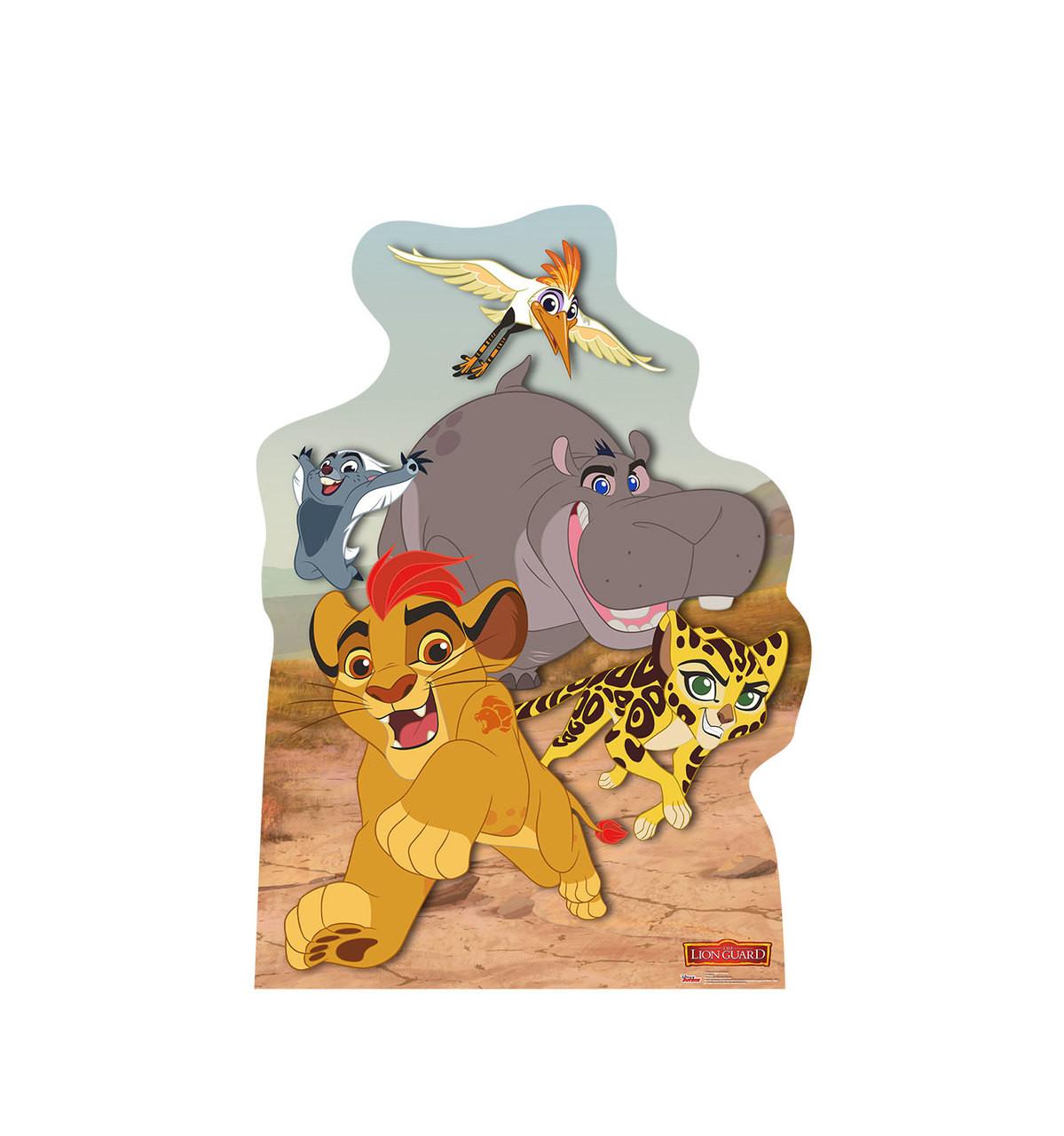 Life-size Lion Guard Friends Cardboard Standup