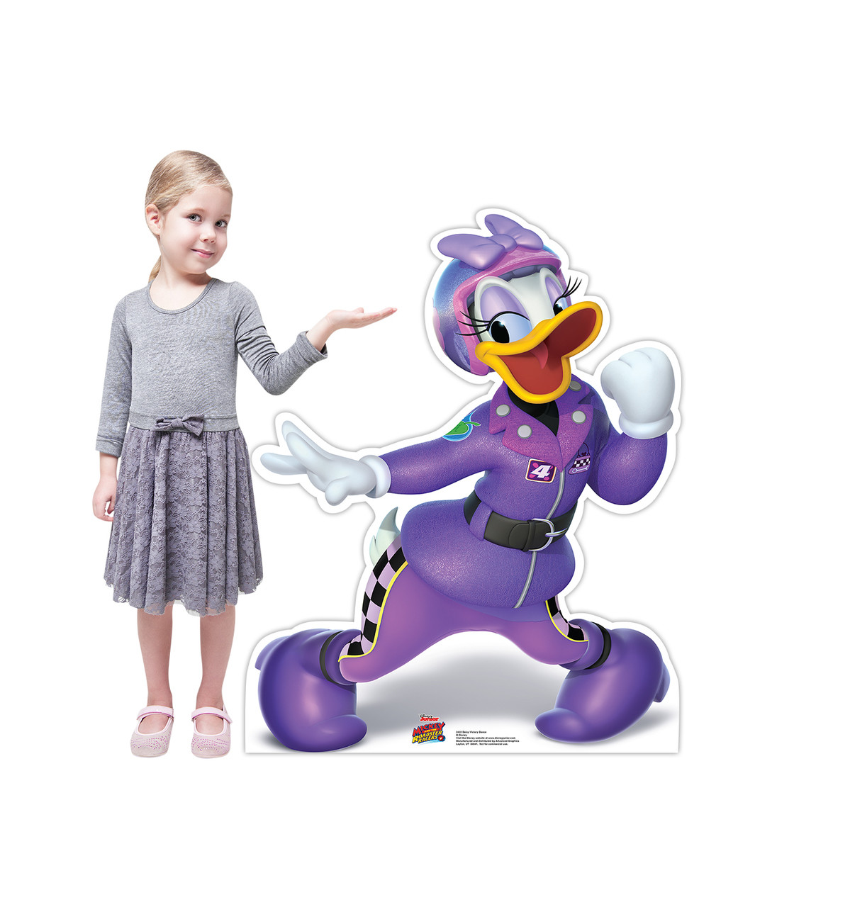 Life-size Daisy Victory Dance (Disney's Roadster Racers) Cardboard Standup 2