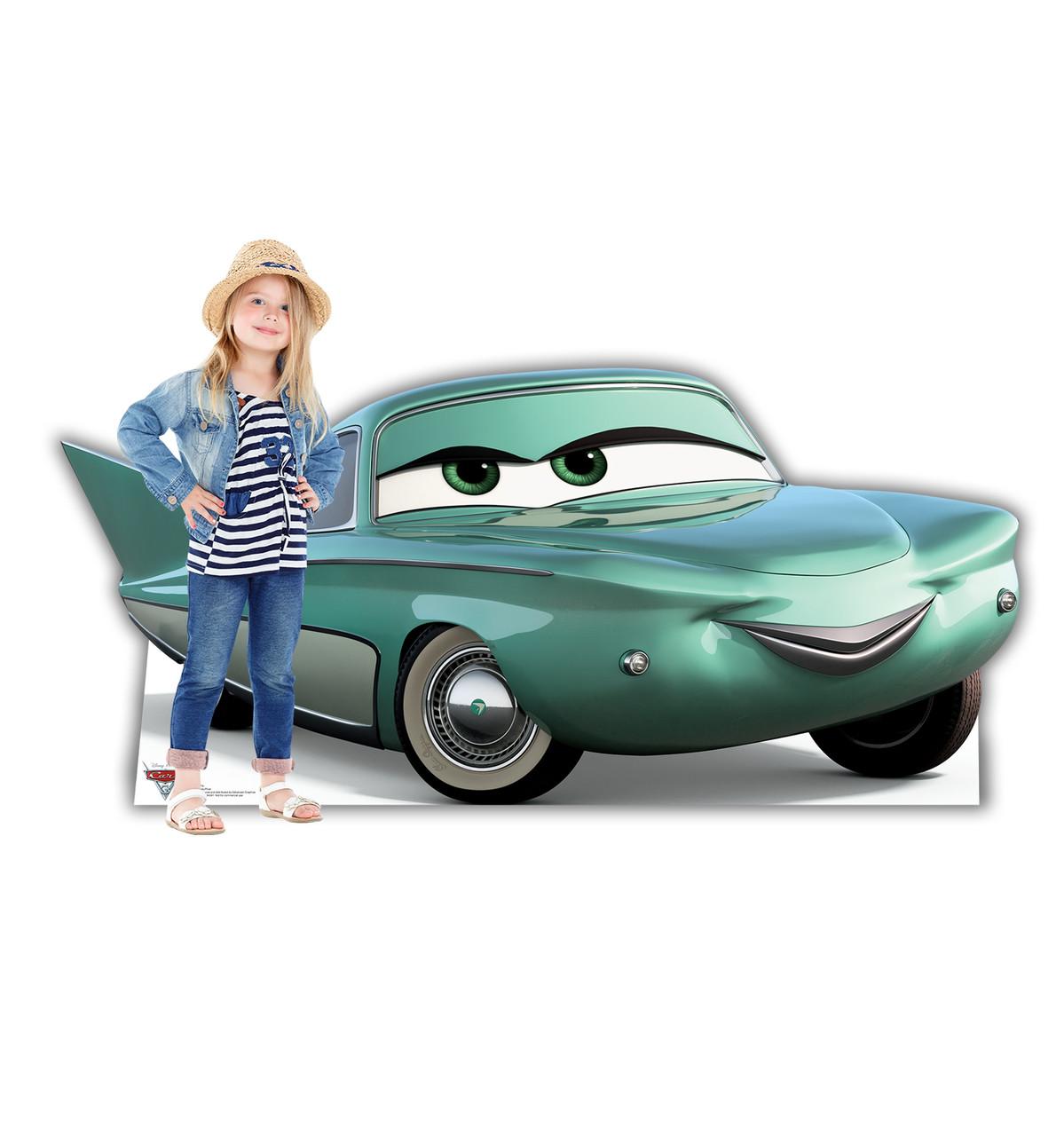 Life-size Flo (Cars 3) Cardboard Standup 2