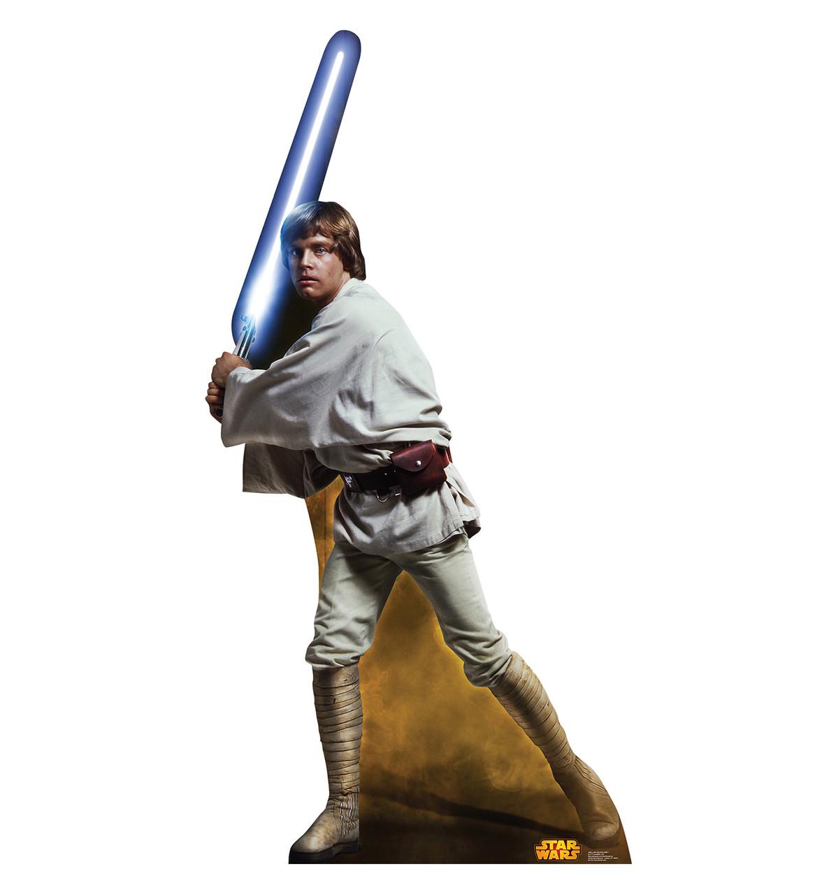 Life-size Luke Skywalker (Retouched) Cardboard Standup