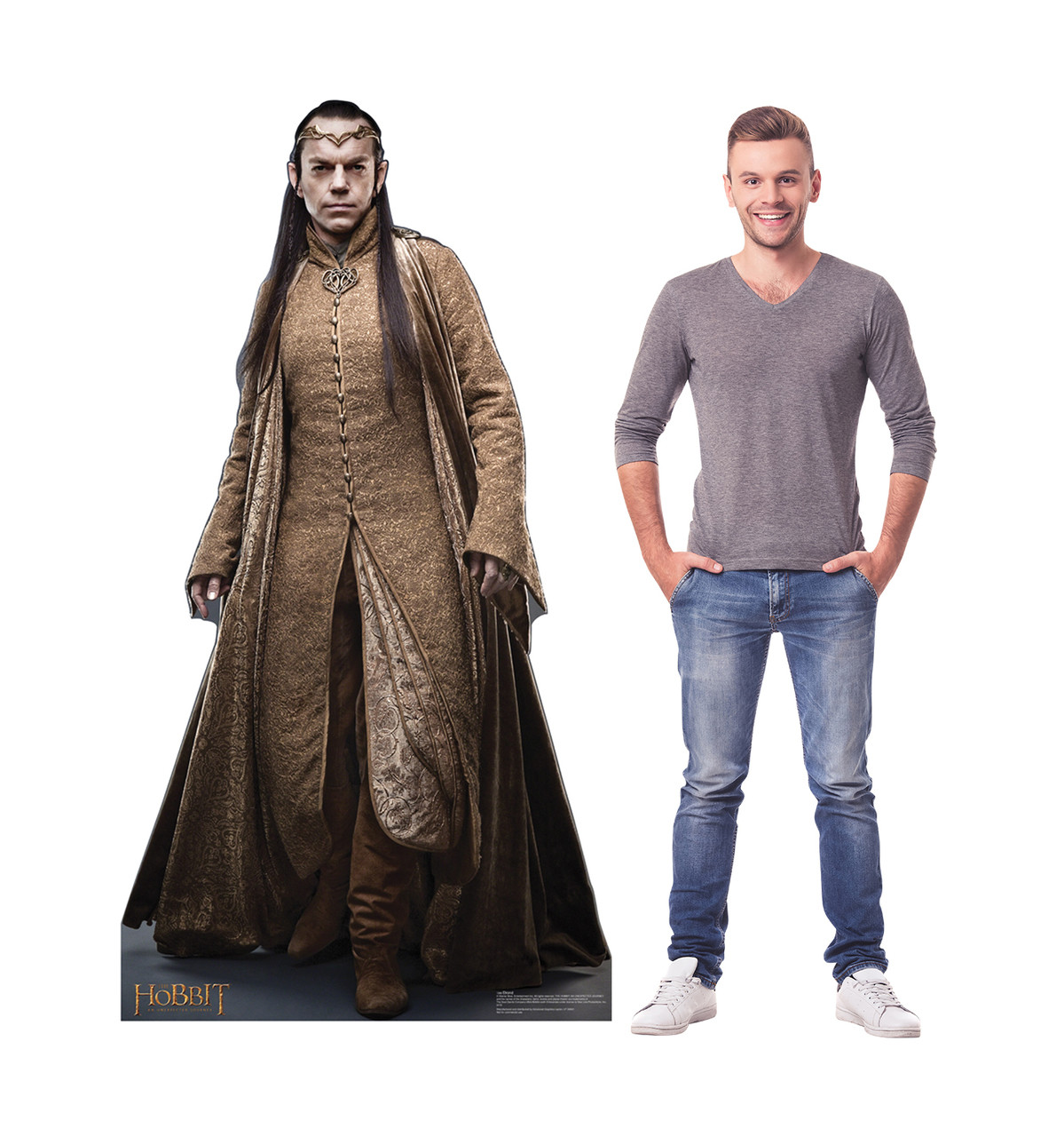 Life-size Elrond - The Hobbit Cardboard Standup